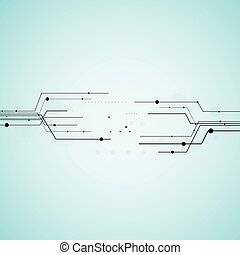 Geometric vector background for business or science...
