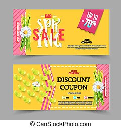 Spring sale coupons