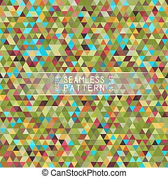Seamless Bright Pattern of Symmetric Triangles for Covers,...