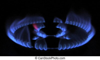 gas flame 01