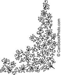 Refined Floral vignette CCCXXII - Refined Floral vignette...