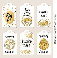 Easter sale tags