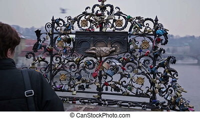 Clasp memory.. Gothic Prague. - Movie on the embankment of...