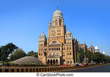Mumbai city in India - Mumbai, INDIA - December 6 : Mumbai...
