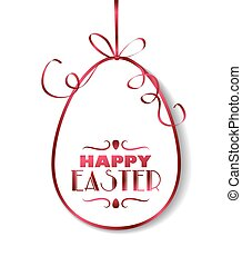 Easter holiday background - Easter card template design....