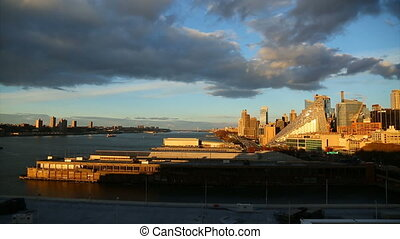afternoon at the New York harbor,part 1