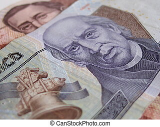 Mexican Currency bills