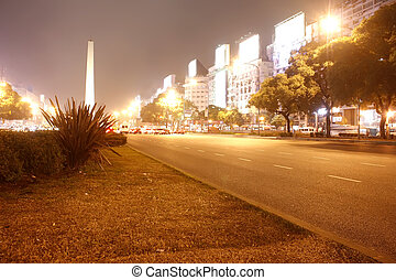 the Obelisco of Buenos Aires - The famous Obelisco of Buenos...