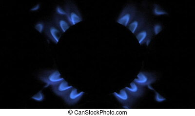 gas flame 08