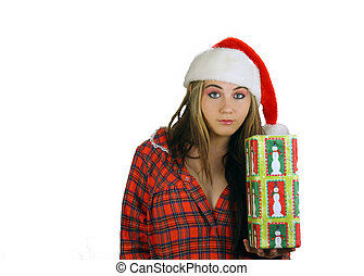 Teen Girl Santa\'s Helper (3)