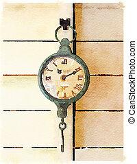 DW Clock 1