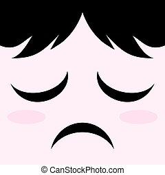 sad face - creative design of sad face