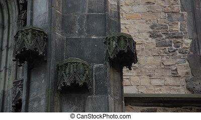 Prague Church in winter - Prague Czech Republic, February...