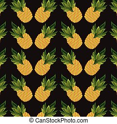 pineapples background design