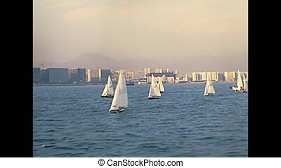 Hong Kong sail boats - Historic sail boats in Hong Kong...