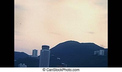 Historic Victoria Peak - Panorama close up on Victoria Peak...