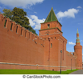 Kremlin Wall Towers