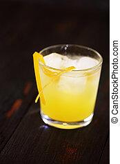 Bolivian based cocktail drink Singani