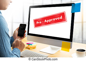 Pre-Approved Choice Mark Selection CUSTOMIZE Status Option...