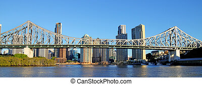 Story Bridge Brisbane Australia - The iconic Story Bridge...