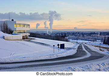University of Alaska Fairbanks, and the city of Fairbanks in...