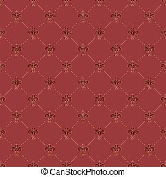 vintage seamless wallpaper - Bright vintage seamless...