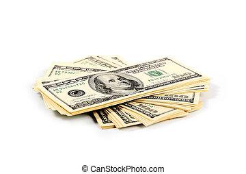 lot of paper dollars - A lot of paper dollars as an element...