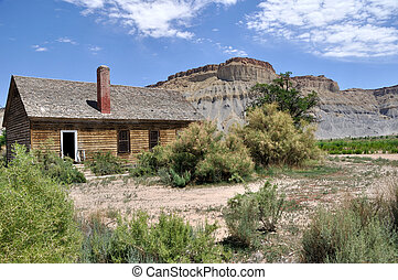 Old Farm House near Capitol Reef National Park