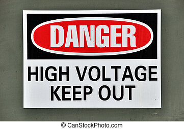 Danger - High Voltage