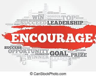 Encourage word cloud