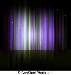 Northern lights, Aurora polaris. Abstract shiny background