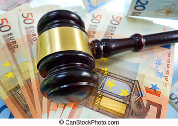 Gavel on Euros