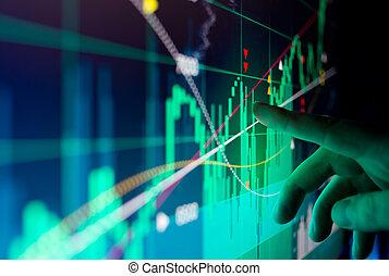 財政, データ, 市場, 株