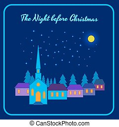 The night before Christmas - The moon night before...