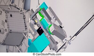 Testing the pc software for modeling space satellites on...