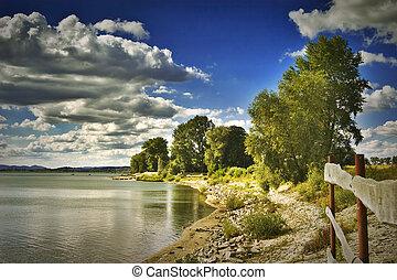 Otmochow Lake, Poland