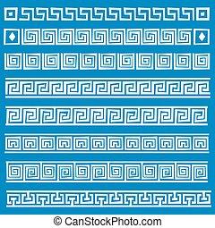 greco, vettore, Ornamento