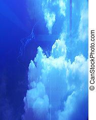 Sky Abstract - High Resolution Human Sky