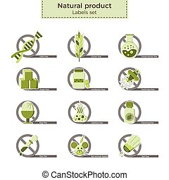 Natural product labels