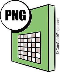 PNG file icon cartoon - PNG file icon in cartoon style...