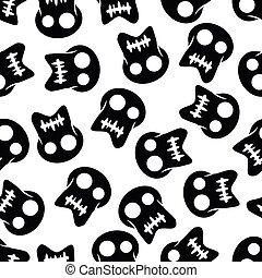 Illustration Seamless Pattern Pirate