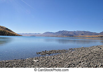Lake Tekapo - Beautiful Nature surrounding Lake Tekapo, New...
