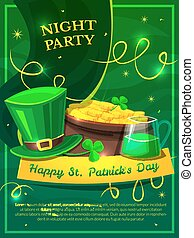 St. Patricks Day vector illustration