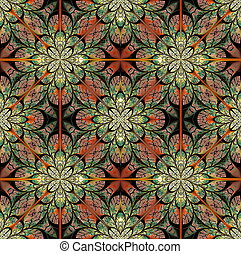 Fabulous pattern of the leaves. Collection - tree foliage....