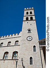 Tower of the People. Assisi. Umbria.