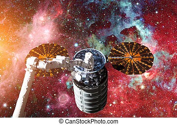 Cargo spacecraft - The Automated Transfer Vehicle over...