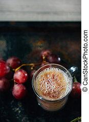 Fresh Grape lassi - Grape lassi from fresh grape berries...