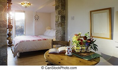 Bed and Breakfast Room - Interior shot of a bed and...