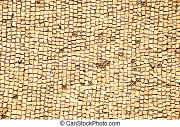 Stone pavement, abstract background. Architectural detail.