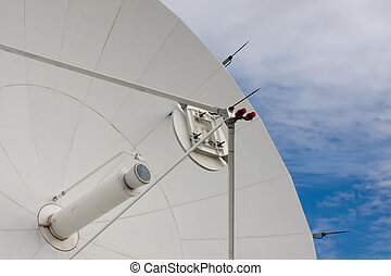 Satellite Dishes at National Radio Astronomy Observatory in...